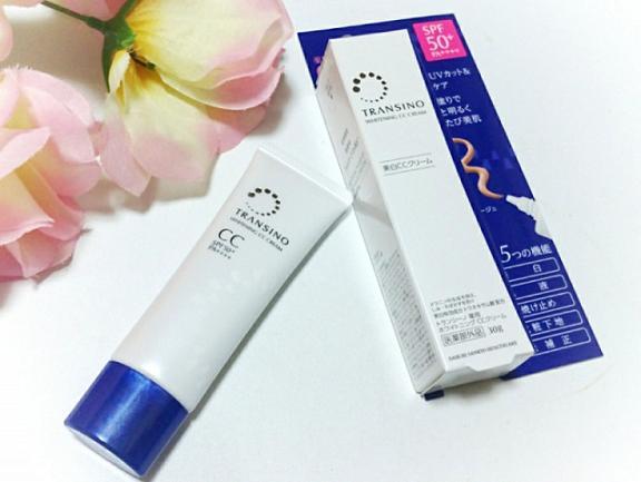 Kem trang điểm dưỡng trắng Transino Whitening CC Cream 30g