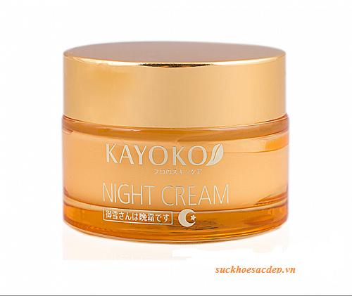 Kem dưỡng da trị nám Nhật Bản Kayoko Night Cream