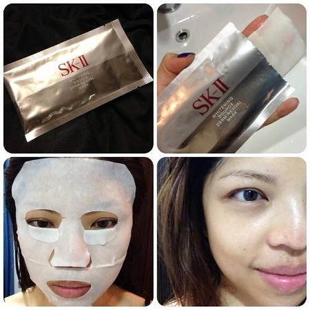 mặt nạ trắng da skii whitening source derm revival mask