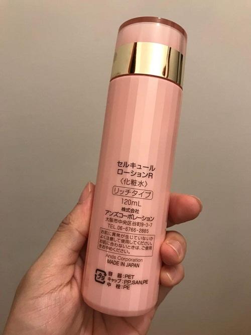 Nước hoa hồng Celcure Lotion 120ml của Nhật Bản