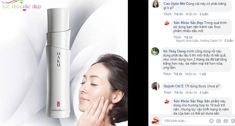 Kem Trị Nám Shiseido HAKU Melanofocus CR