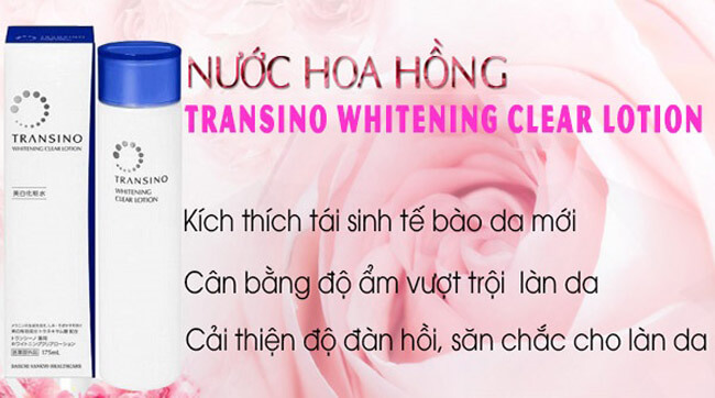 Transino Whitening Clear Lotion