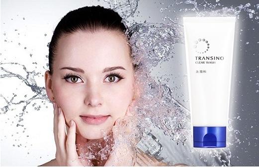 Sữa rửa mặt transino clear wash