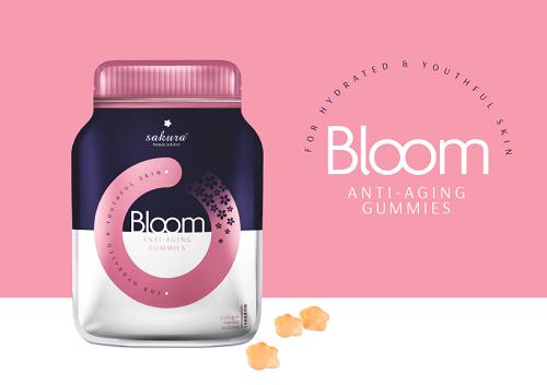 sakura bloom anti aging collagen gummies an toàn cho mọi loại da