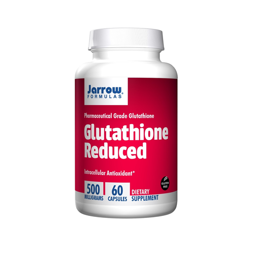 Viên uống trắng da Glutathione Reduced 500mg Jarrow