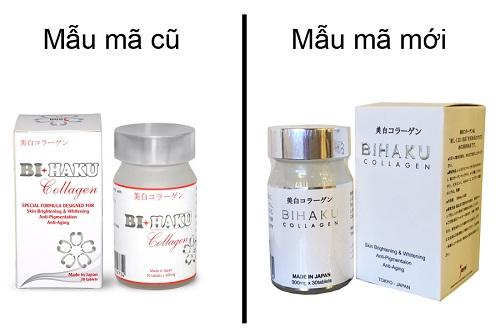 viên uống Bihaku Collagen