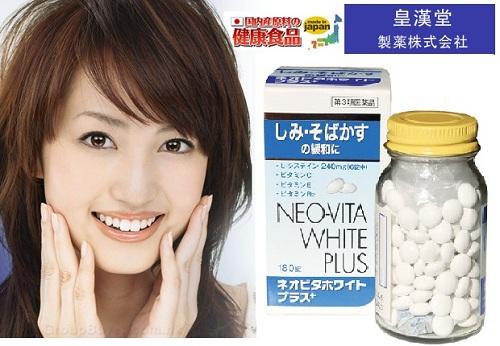 Viên uống trị nám dưỡng da toàn thân Neo Vita White Plus