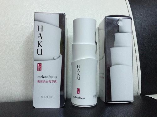 Kem trị nám Nhật Bản Shiseido HAKU Melanofocus CR chính hãng