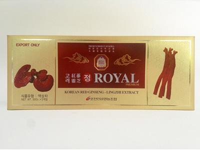Cao hồng sâm linh chi Royal Hàn Quốc chăm sóc sức khỏe