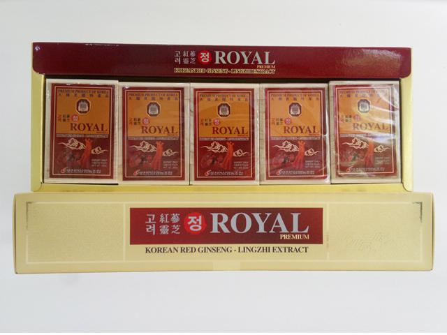 Tác dụng cao hồng sâm linh chi Royal Hàn Quốc