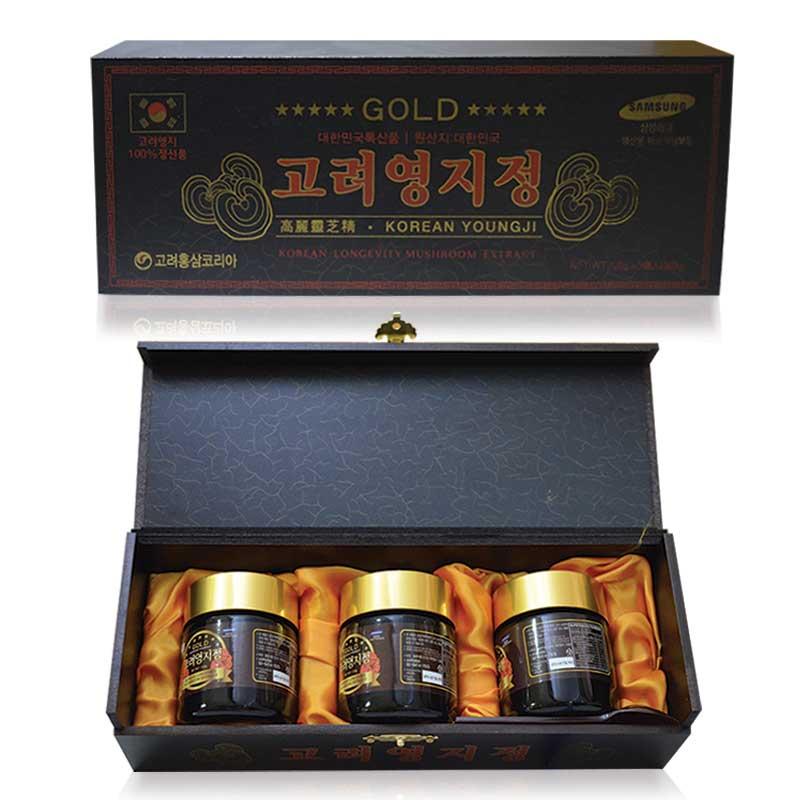 Công dụng cao linh chi đen hộp gỗ Hàn Quốc với sức khỏe