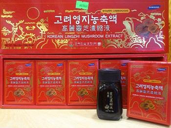 Cao linh chi đỏ Hàn Quốc Bio 5 lọ x 30g bảo vệ sức khỏe
