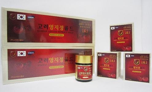 Tác dụng cao linh chi đỏ Hàn Quốc hộp gỗ 400g cho sức khỏe