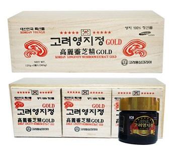 Cao linh chi đỏ hộp gỗ thượng hạng 360g bảo vệ sức khỏe