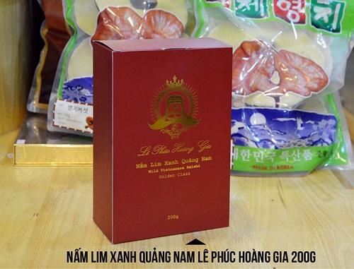 Nấm lim xanh Lê Phúc Hoàng Gia Quảng Nam 200g