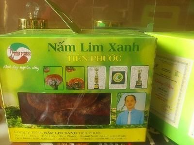 Nấm lim xanh tiên phước tử chi 1kg chính hãng cho sức khỏe
