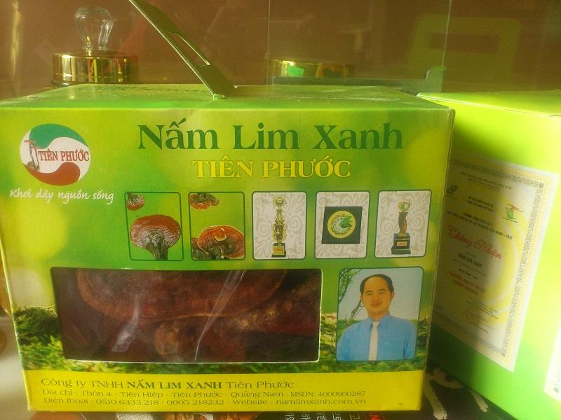 Công dụng nấm lim xanh tiên phước tử chi 1kg