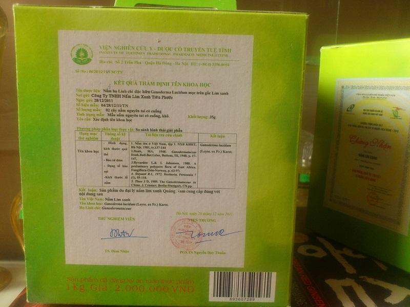 Nấm lim xanh tiên phước tử chi 1kg chất lượng cao cấp
