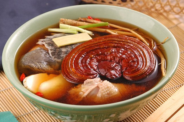 Nấm linh chi đỏ của Hàn Quốc dùng hiệu quả