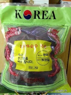 Nấm linh chi đỏ Hàn Quốc túi xanh 1 kg loại thượng hạng