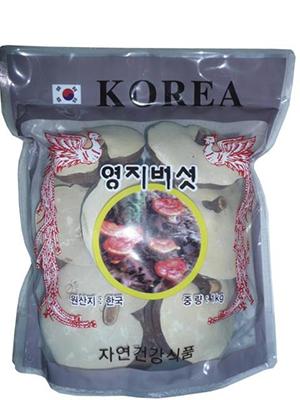Nấm linh chi Hàn Quốc có chân túi 1kg tăng sức đề kháng