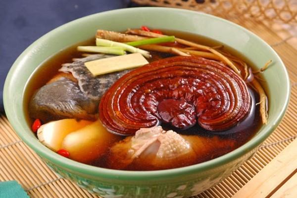 Nấm linh chi hàn quốc uhak túi 1 kg giàu dinh dưỡng