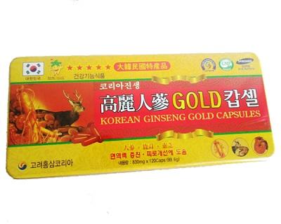 Viên hồng sâm nhung hươu linh chi Hàn Quốc cho sức khỏe