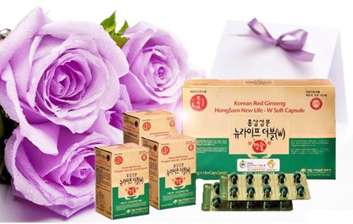 Viên uống hồng sâm Hàn Quốc cho phụ nữ