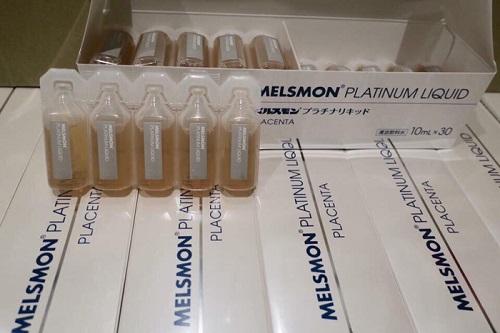 Nhau thai melsmon dạng nước nhận được phản hồi tốt từ khách hàng