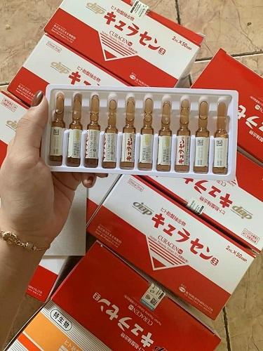 Tế bào gốc Nhật Bản Curacen Human Placenta Extract 2ml x 50 ống