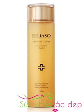Nước hoa hồng cân bằng độ ẩm Dr.IASO 130ml