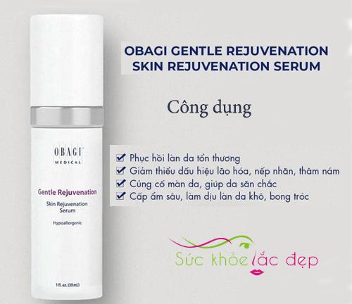 những công dụng của obagi gentle rejuvenation skin rejuvenation serum