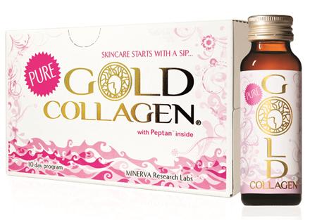 Pure gold collagen - sản phẩm dành riêng cho phái đẹp