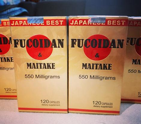 review fucoidan maitake