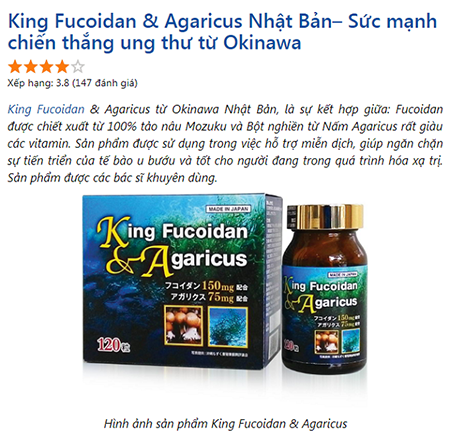 review king fucoidan