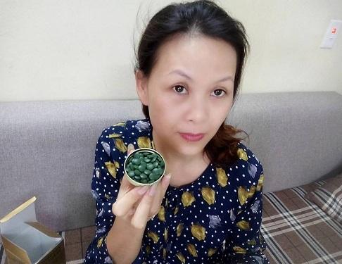 Review tảo biển Spirulina Nhật Bản