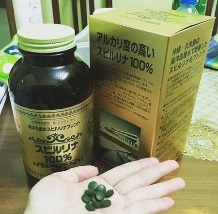 Review tảo xoắn Nhật Bản giảm cân