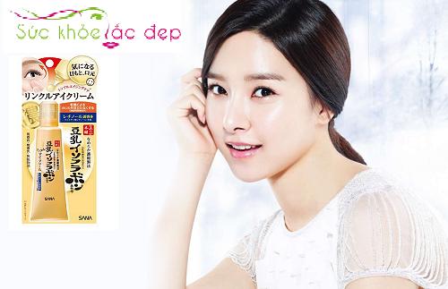 Công dụng của kem trị tan bọng mắt Sana Nhật Bản