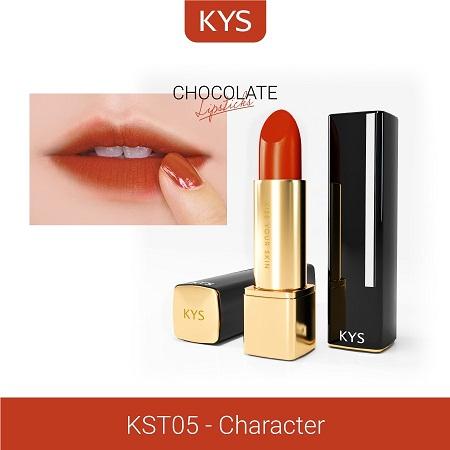 Son KYS Chocolate Honey cam cháy  chiếm được cảm tình của rất nhiều chị em