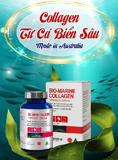 Tại sao Viên Uống Đẹp Da Bio-Marine Collagen Careline tốt.