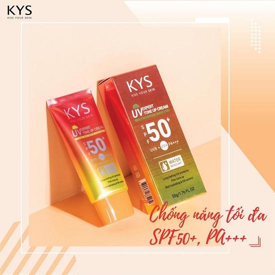 Kem chống nắng nâng tông KYS UV Expert Tone Up Cream SPF50+/PA+++