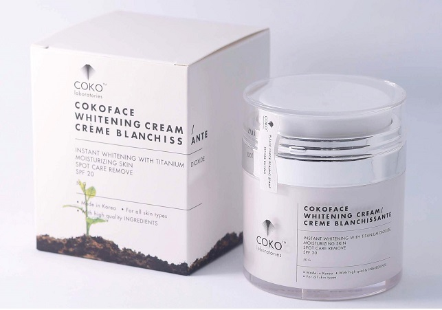 Kem Dưỡng Trắng Da Thiên Nhiên CokoFace Whitening Cream