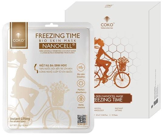 Mặt Nạ Sinh Học Collagen Tái Tạo Da Coko Freezing Time