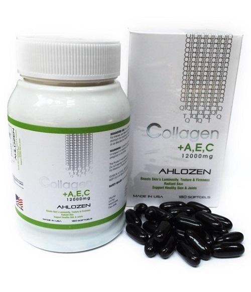 viên collagen Ahlozen +AEC 180 viên