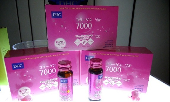 dhc collagen beauty 7000 plus Nhật Bản