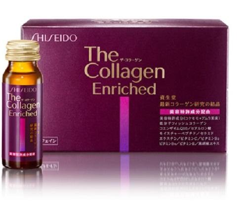 Shiseido The Collagen Enriched Nhật Bản dạng nước
