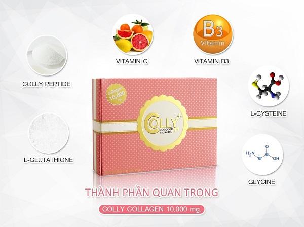 Bột Uống Collgen Làm Đẹp Da Colly Collagen 10000mg Thái Lan