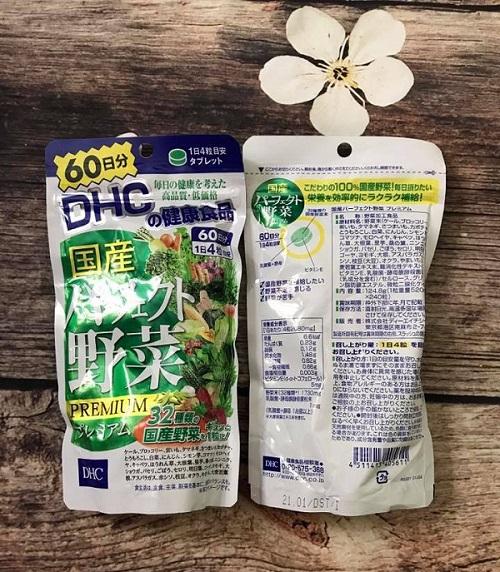 Review Viên uống rau củ DHC 60 ngày có tốt không mua ở đâu