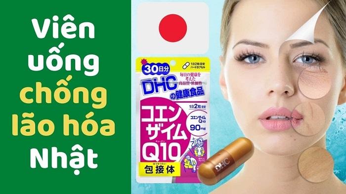 Viên uống Coenzyme Q10 DHC Nhật Bản 60 viên 30 ngày