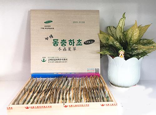 đông trùng hạ thảo samsung hàn quốc hộp gỗ 60 gói x 30ml